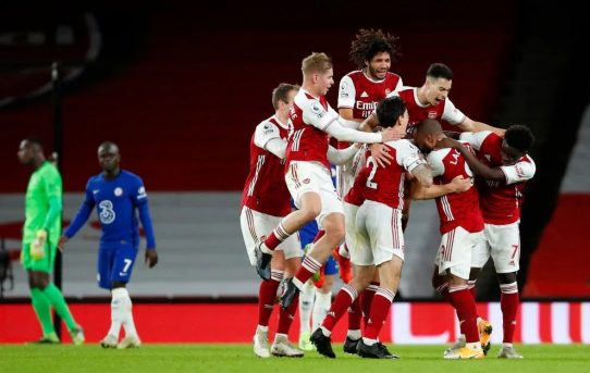 That winning feeling - a long time coming - Arsenal 3 Chelsea 1