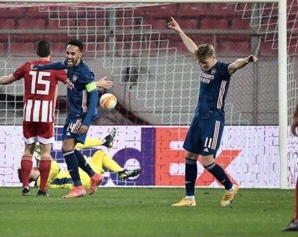 Match Report - Olympiakos 1 Arsenal 3