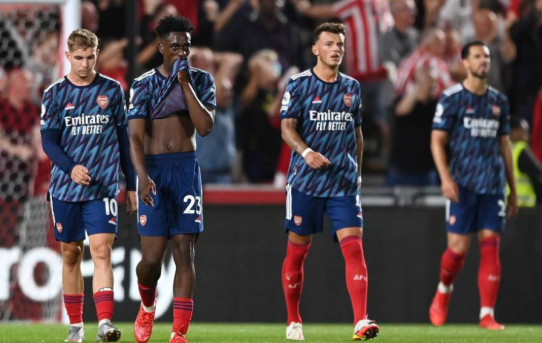 Match Report - Brentford 2 Arsenal 0